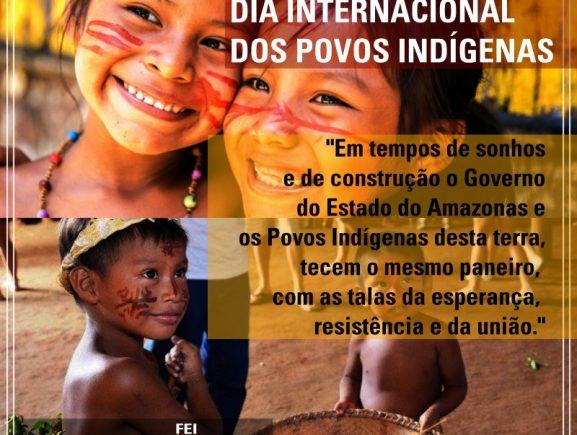 9 de agosto DIA INTERNACIONAL DOS POVOS INDÍGENAS
