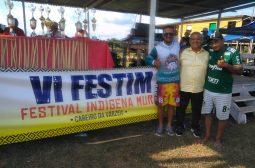 A Fundação Estadual do Índio realiza o VI Festival Indígena Mura/FESTIM