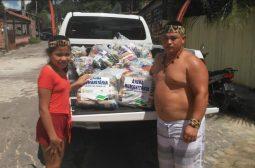 Governo entrega alimentos, máscaras e álcool a famílias indígenas de São Gabriel